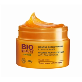 Vitamin Rich Detox Mask w. Orange Water