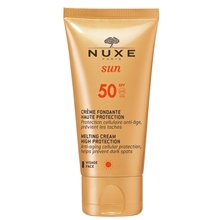 Nuxe SUN Melting Cream for Face SPF 50