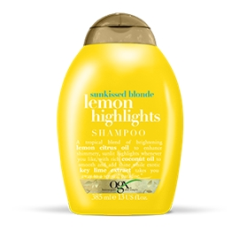 Ogx Lemon Highlights Shampoo - Sunkissed Blonde