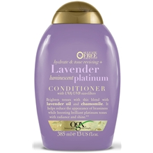 385 ml - Ogx Lavender Platinum Conditioner