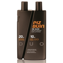 Piz Buin In Sun Sun Lotions Spf 10/20 Duo