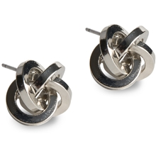 PEARLS FOR GIRLS Knot Earring Silver
