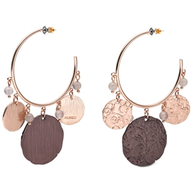 Angelina Creole Earrings - Pilgrim - Örhängen  b23c66cf7680a