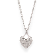 Eloise Crystal Heart Necklace