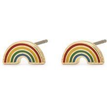 1 set - Thrill Earrings Rainbow