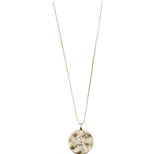 51203-2011 Aquarius Zodiac Sign Necklace