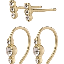 13204-2003 Radiance Earrings Gold Plated 1 set