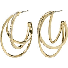 13204-2013 Radiance Earrings Gold Plated 1 set