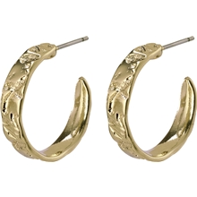 14204-2013 Compassion Creole Earrings Gold Plated 1 set