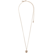 67211-4001 Sophia Heart Rose Gold Plated Necklace