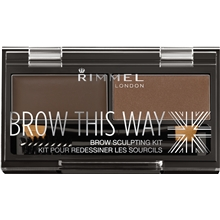Rimmel Brow This Way Eyebrow Powder Kit