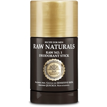Raw No1 Deodorant Stick 75 ml