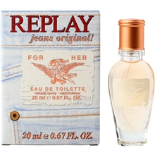 Replay Jeans Original For Her - Edt Spray