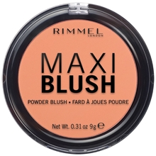 9 gram - 004 Sweet Cheeks - Rimmel Maxi Blush
