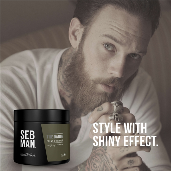 SEBMAN The Dandy - Shiny Pomade (Bild 2 av 7)