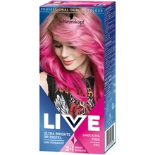 1 set - No. 093 Shocking Pink - Live Color XXL HD Ultra Brights