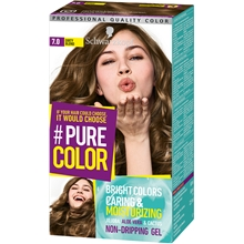 1 set - 7.0 Dirty Blonde - Pure Color