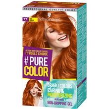 1 set - 7.7 Red Ginger - Pure Color