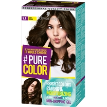 1 set - 5.1 Ashy Brown - Pure Color