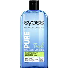500 ml - Syoss Pure Fresh Shampoo