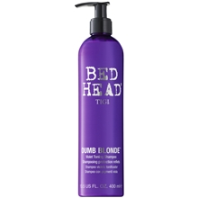 Bed Head Dumb Blonde - Purple Toning Shampoo