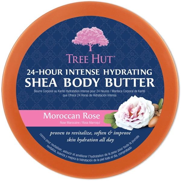 Tree Hut Shea Body Butter Moroccan Rose (Bild 2 av 2)