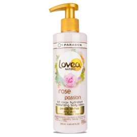 0% Rose Passion Moisturizing Body Lotion - Dry