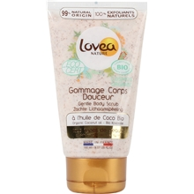 150 ml - Lovea Bio Gentle Body Scrub Coconut Oil