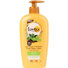 500 ml - Lovea Fresh Body Lotion Green Tea