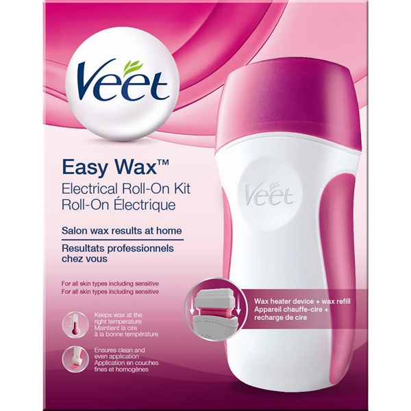 Veet Easy Wax - Electrical Roll On Kit