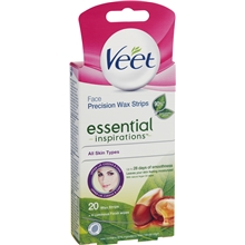20 st/paket - Veet Face Wax Strips Essential Inspirations
