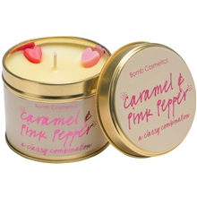 Tin Candle Caramel & Pink Pepper