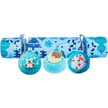 Berry Christmas Cracker Bath Blasters Set
