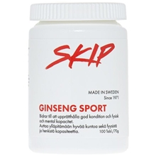 100 tabletter - Gingseng Sport