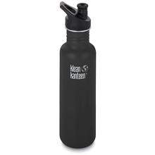 800 ml - Matt svart - Klean Kanteen Classic 800 ml