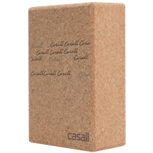 Yoga block natural cork