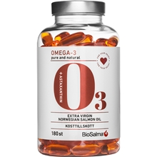 BioSalma Omega3 pure and natural salmonoil 1000mg