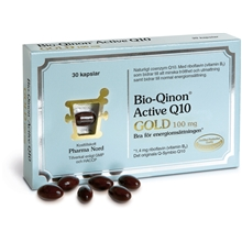 30 kapslar - Bio-Qinon Active Q10 GOLD 100 mg