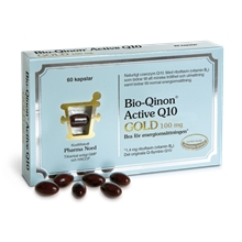 60 kapslar - Bio-Qinon Active Q10 GOLD 100 mg