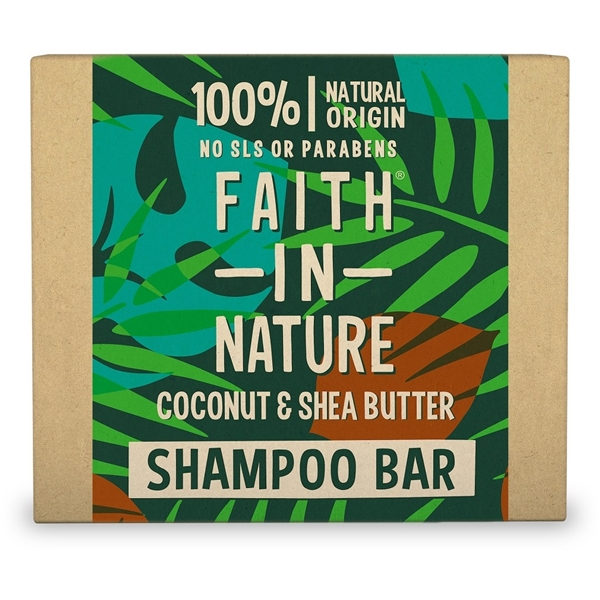 Schampo Bar Coconut & Sheabutter