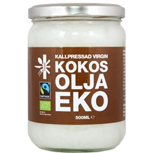 Kokosolja Virgin Eko