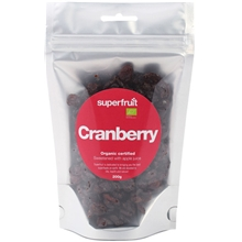 Cranberries torkade bär
