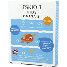 Eskimo-3 kids chewable 27 tabletter