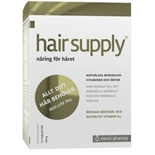72 tabletter - Hair Supply 72t