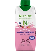 330 ml - Nordic Berries - Nutrilett Smoothie