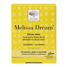 120 tabletter - Melissa Dream