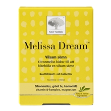 60 tabletter - Melissa Dream