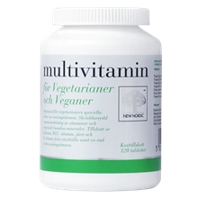 120 tabletter - Multivitamin för vegetarianer