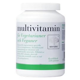 multivitamin för vegetarianer