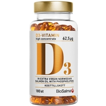 D3-vitamin high concentrate 62,5ug